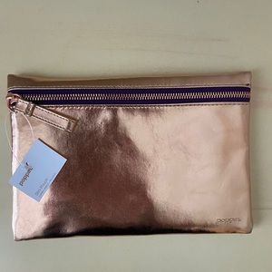 Handbags - Rose gold small pouch
